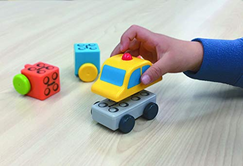People Blocks Working Cars - Magnetic Building Blocks and Combination Cars