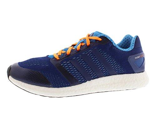 Adidas Cc Raket Boost M Mænd Kører Undervisere Sneakers Nat Blå / Løbe Hvid / Sol Blå LEQ3Tykl0
