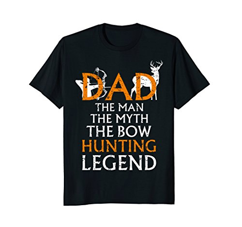 Men's Deer Hunting Shirt Cool Gift For Dad Bow Hunting Gift