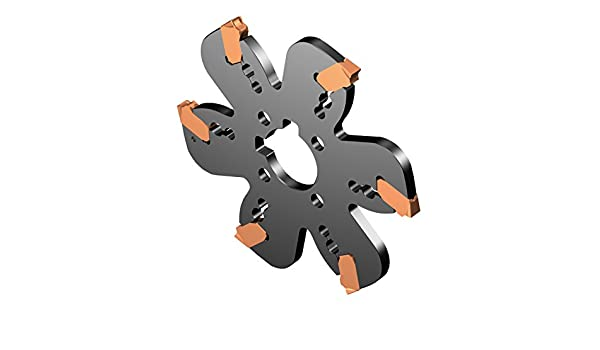 3.42 Maximum Cutting Depth 10 Cutting Diameter 0.094 Cutting Width Sandvik Coromant AQD-F-254Y38-M Coromill QD Indexable Grooving and Parting Off Cutter