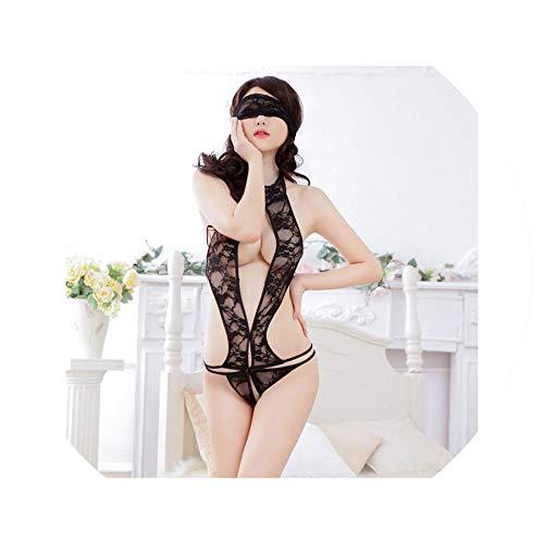 Women Sleepwear Sexy Lingerie Lace Tulle G String Eyelash Nightwear Bodycon Underwear Feminina Ropa Erotica