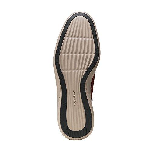 Cole Haan Mens Grande Evoluzione Shortwing Brandy Brown Camoscio / Ciottoli