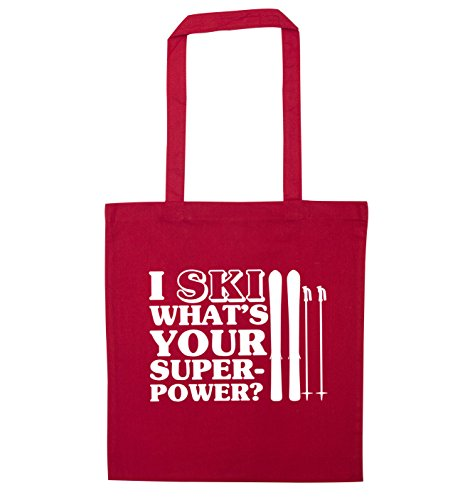 Bag your Red ski Flox superpower Creative Tote what's I q7TwnzZxn