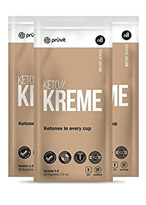 NEW! Keto//KREME by Pruvit (3 Packets) Ketone Supplements in a Coffee Creamer! from Pruvit Ventures