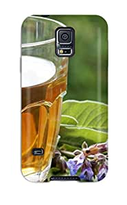 Case Cover Green Tea/ Fashionable Case For Galaxy S5