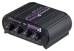 ART Pro Audio HeadAmp 4 Four Channel Headphone Amplifier