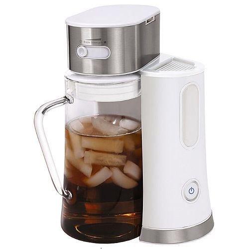 Oster Bvst-tm24 2.5 Quart Iced Tea Maker Brewer White / Stainless