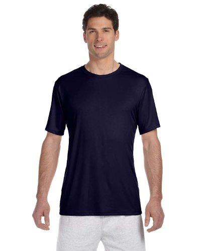 Hanes Cool DRI Tagless Men`s T-Shirt Navy