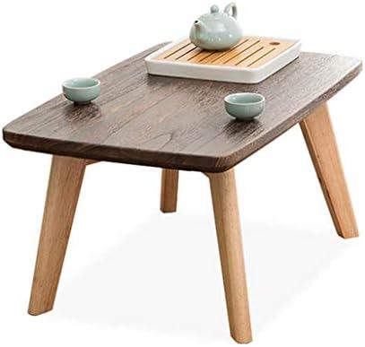 Muebles y accesorios de jardín Mesas Pequeña mesa salón de té de madera maciza mesa de