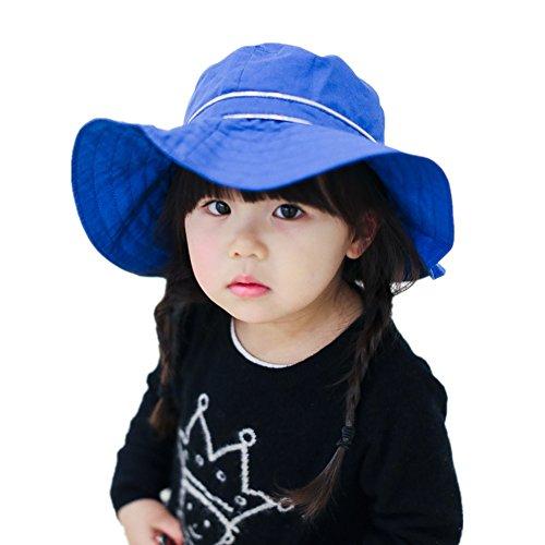 Home prefer kids girls floppy hat large brim bowknot beach for Home prefer hats