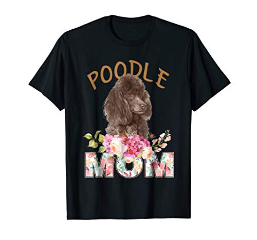 Miniature Poodle Mom shirt Miniature Poodle Mom Tee -