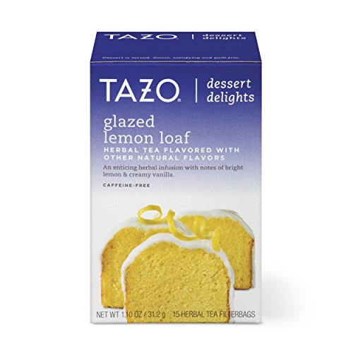 Lemon Tazo (Tazo Filterbag Tea, Glazed Lemon Loaf, 15 ct (Pack of 6))