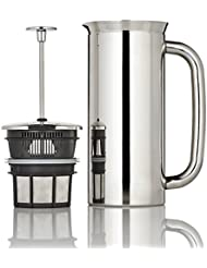 Espro Coffee Press P7-32 oz Double Wall Vacuum Insulated Polished Stainless Steel Coffee Press