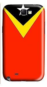 Samsung Note 2 Case East Timor Flag 3D Custom Samsung Note 2 Case Cover