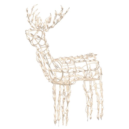 Brite Star LED Standing Buck Figurine, 48-Inch (Led Reindeer)