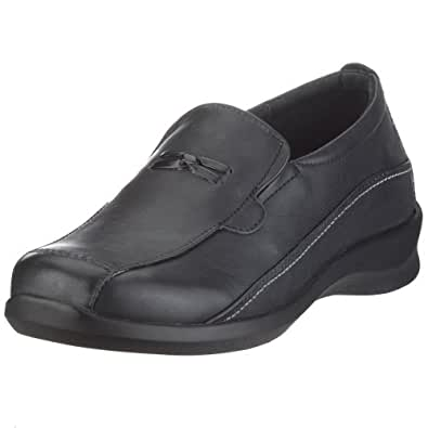 Amazon.com | Aetrex Women's E220 Rosalynn Leather Slip-on
