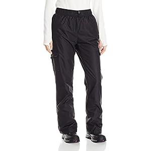 Arctix Women's Lumi Pull Over Fleece Lined Cargo Snow Pants, Black, Medium