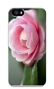 iPhone 5 5S Case Pink Camellia 3D Custom iPhone 5 5S Case Cover