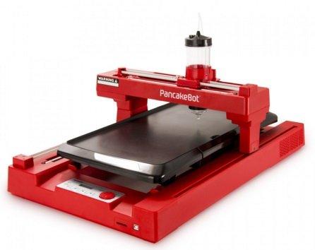 PNKB01RD 3D PancakeBot Customizable Nonstick 3D Pancake Printer by PancakeBot