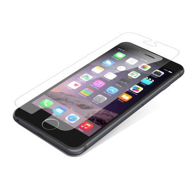 ZAGG Invisible Shield Glass Screen Protector Case Friendly for Apple iPhone 6 Plus and iPhone 6S Plus HD Clarity Protection