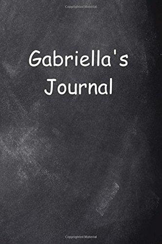 Download Gabriella Personalized Name Journal Custom Name Gift Idea Gabriella: (Notebook, Diary, Blank Book) (Name Personalized Journals Notebooks Diaries) pdf epub