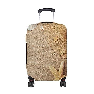 6cfa12e04e ALAZA Sea Beach Sand Starfish Travel Luggage Cover Suitcase Cover Case hot  sale 2017