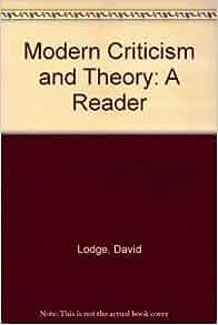 david lodge modern criticism and theory pdf
