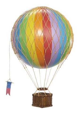Authentic Models Travels Light Hot Air Balloon Model -