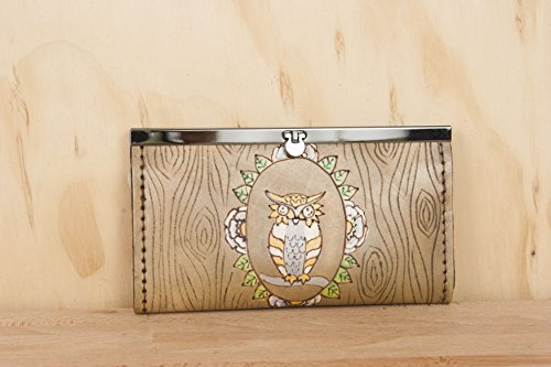 Emerson Owl Clutch Wallet by Moxie and Oliver