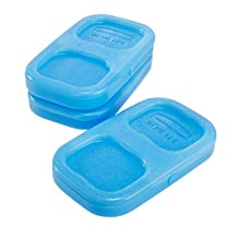 Rubbermaid Lunch Blox Small Blue Ice Subsitute 3 CT