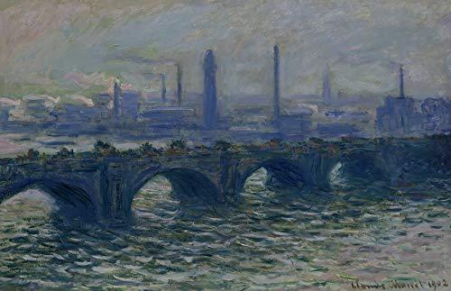 - Claude Monet Waterloo Bridge Hamburger kunsthalle 30