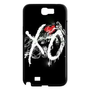 C-EUR Diy Phone Case The Weeknd XO Pattern Hard Case For Samsung Galaxy Note 2 N7100
