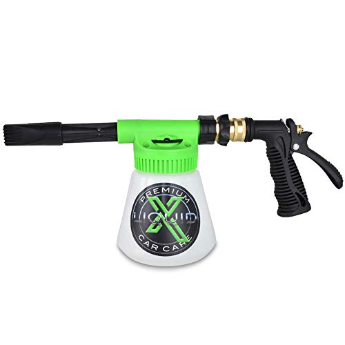 - Liquid X Foam Wash Gun - Car Washing Made Simple! - Works with Regular Garden Hose (Foam Gun)