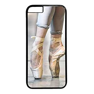 """Ballet Point Dance Theme Case for iPhone 6(4.7"""") PC Material Black"""