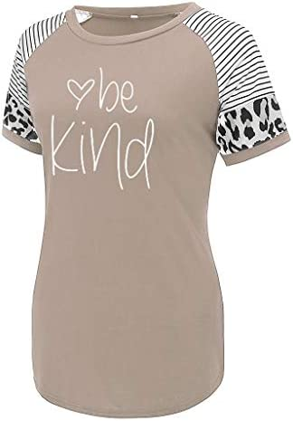 Nicetage Womens Cute Funny T Shirt Teen Girl Graphic Tee Short Seeve Casual Tops