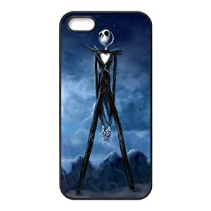 Jack Skellington iPhone 5 5s Cell Phone Case Black yyfabd-245411
