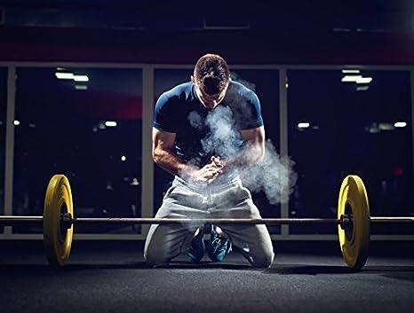 100 g Tiza Magnesia Polvo de Magnesia Escalar Bulder Deporte Fitness Magnesio: Amazon.es: Deportes y aire libre