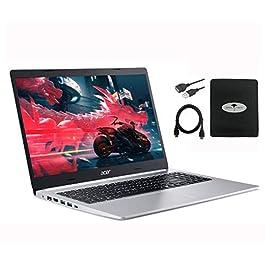 2020 Newest Acer Aspire 5 15.6″ FHD Display, 10th Gen Intel Core i3-1005G1(Beat i5-8265U), 8GB RAM, 128GB PCIe SSD +1TB HDD, WiFi 6, Backlit Keyboard, Windows 10 w/Ghost Manta Accessories
