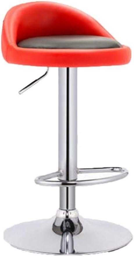 Nordic Metal Barkruk Hoge Kruk Lift Rotation for Familie/Receptie/Eethuis/Kitchen Multi Color Optioneel (Color : E) H