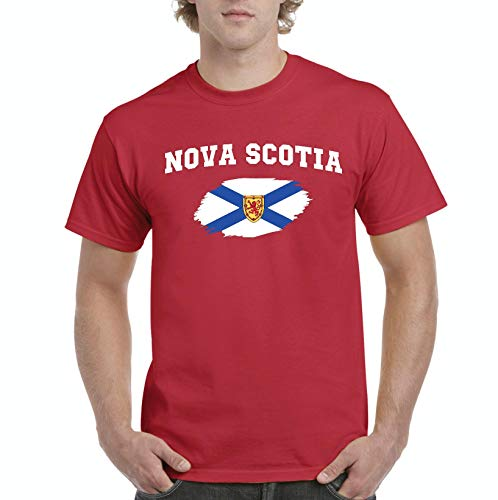 Canada Pride Nova Scotia Souvenir Men s T-Shirt Tee (2XLR) 4d463179a89fa