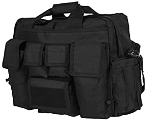 LA Police Gear Jumbo Bail Out Bag (Black)