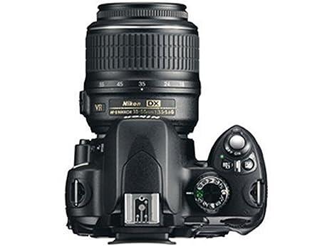 Nikon D60 - Cámara Réflex Digital 10.2 MP (Objetivo DX VR 18-55 mm ...