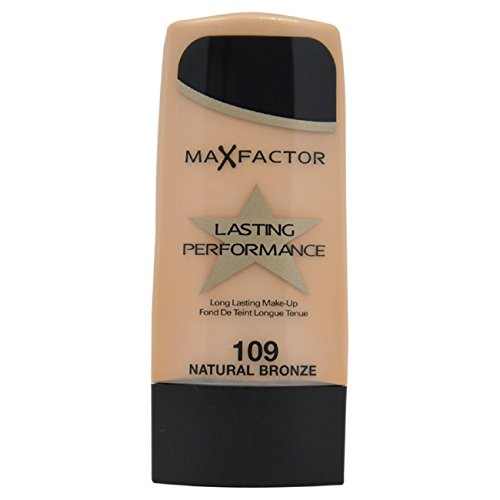 Max Factor Long Lasting Performance Foundation, No.109 Natural Bronze, 1.1 Ounce