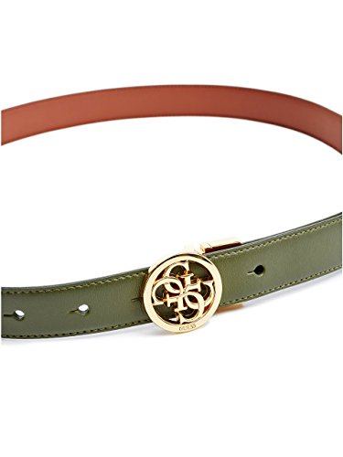 GUESS Women's Skinny Reversible Quattro G Logo Belt