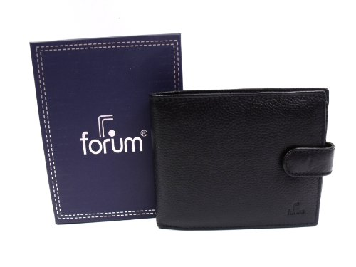 Emporium Mens Black Leather Leather Leather Gift With Emporium Mens Box Wallet TPHg1P