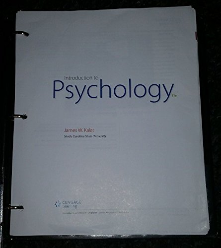 INTRO.TO PSYCHOLOGY (LOOSELEAF)