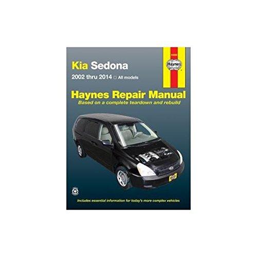 Kia Sedona, 02-'14 (Haynes Automotive)