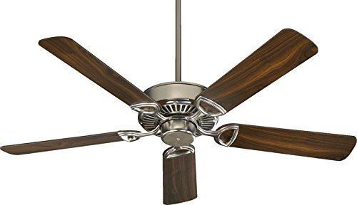 Quorum International Estate Satin Nickel Energy Star 52-Inch Ceiling Fan