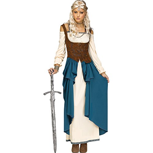 Fun World Womens Viking Queencostume