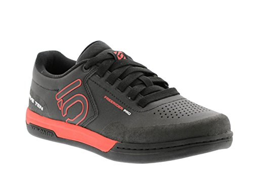 Five Ten Men's Freerider Pro Bike Shoes (Black/Red, 10 US)